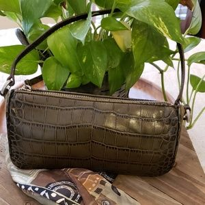 ANN TAYLOR CROCODILE BAG